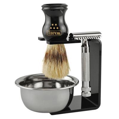 Imagem 1 do produto Whal 5 Star Kit - Pincel + Barbear + Tigela - Kit