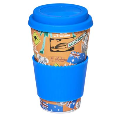 Imagem 1 do produto Copo Eco Océane - Bamboo Cup Viagens - 1 Un