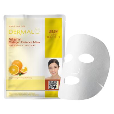 Imagem 1 do produto Máscara Facial Revitalizante Dermal - Colágeno com Vitamina C - 23g