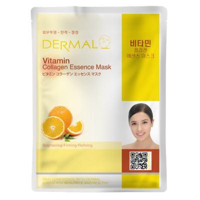 Imagem 2 do produto Máscara Facial Revitalizante Dermal - Colágeno com Vitamina C - 23g