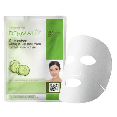 Imagem 1 do produto Máscara Facial Anti-stress  Derma - Colágeno com Pepino - 23g
