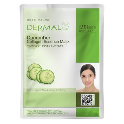 Imagem 2 do produto Máscara Facial Anti-stress  Derma - Colágeno com Pepino - 23g