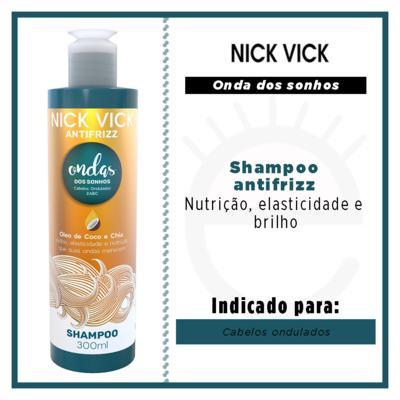 Imagem 2 do produto Nick Vick Antifrizz Onda dos Sonhos - Shampoo - 300ml