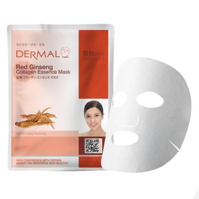 Imagem 2 do produto Máscara Facial Revigorante Dermal - Colágeno com Ginseng Vermelho - 23g