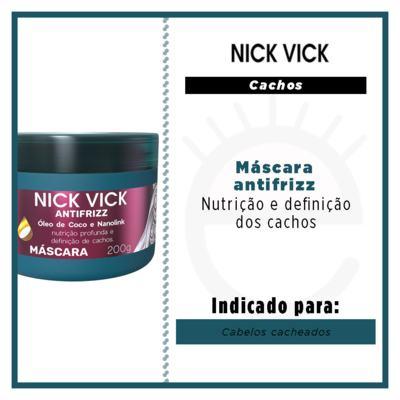Imagem 2 do produto Nick Vick Antifrizz Cachos - Máscara de Nutrição - 200g