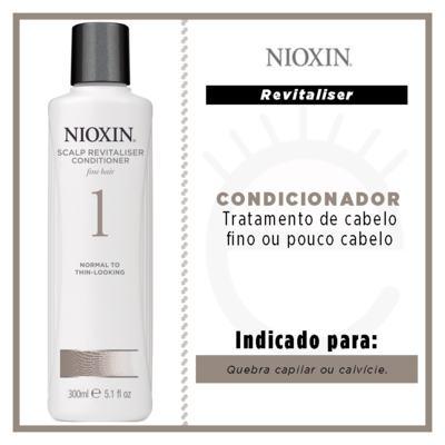 Imagem 2 do produto Nioxin System 1 Scalp Revitaliser -Condicionador - 300ml