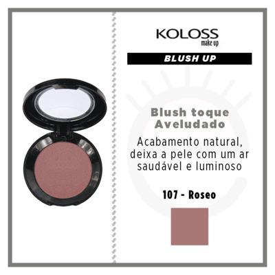 Imagem 4 do produto Blush Koloss Up - 107 Roseo