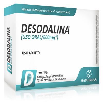 Imagem 1 do produto Desodalina 600mg - Sanibras - 60 cápsulas