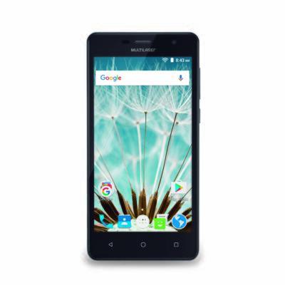 """Imagem 2 do produto Smartphone MS50S 3G tela 5"""" dual câmera 5MP+8MP Android 6.0 Multilaser preto - NB262 - NB262"""