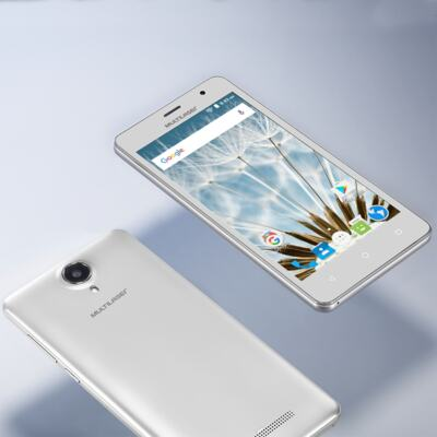 "Imagem 20 do produto Smartphone MS50S Colors 3G Tela IPS de 5"" Android 6 Dual Câmera 5+8MP Multilaser Branco - NB705 - NB705"