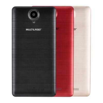 "Imagem 25 do produto Smartphone MS50S Colors 3G Tela IPS de 5"" Android 6 Dual Câmera 5+8MP Multilaser Branco - NB705 - NB705"