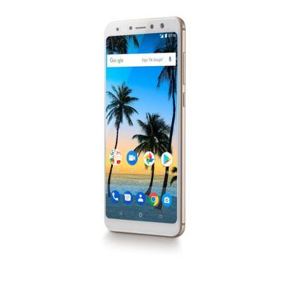 """Imagem 5 do produto Smartphone Multilaser MS80 4GB RAM + 64GB Tela 5,7"""" HD+ Android 7.1 Qualcomm Dual Câmera 20MP+8MP Dourado - P9067 - P9067"""