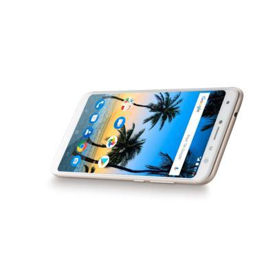 """Imagem 8 do produto Smartphone Multilaser MS80 4GB RAM + 64GB Tela 5,7"""" HD+ Android 7.1 Qualcomm Dual Câmera 20MP+8MP Dourado - P9067 - P9067"""