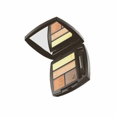 Imagem 1 do produto Quarteto de Sombra para Olhos Matte Avon Ultra Color 5g - Quarteto de Sombra para Olhos Matte Avon Ultra Color 5g - Terra