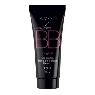 Imagem 2 do produto BB Cream 10 em 1 Avon Ideal Face FPS 15 30ml - BB Cream 10 em 1 Avon Ideal Face FPS 15 30ml - Mel