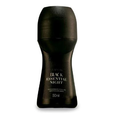 Imagem 1 do produto Desodorante Roll-On Black Essential Night Antitranspirante - 50ml