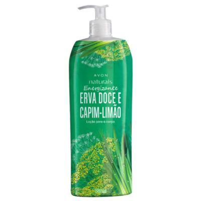 Loção para o Corpo Naturals Erva Doce e Capim-Limão - 750 ml