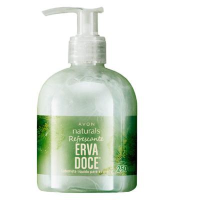 Sabonete Líquido para as Mãos Naturals Erva Doce - 250 ml