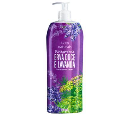 Imagem 2 do produto Loção para o Corpo Naturals Revigorante Erva Doce e Lavanda - 750 ml -