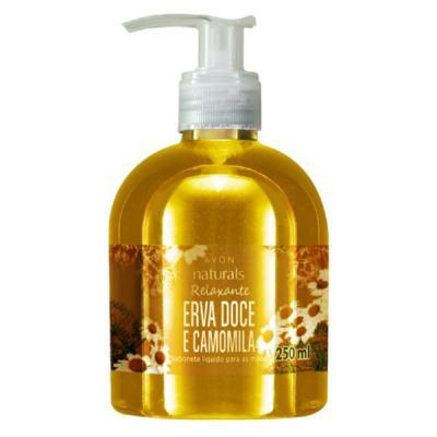 Imagem 2 do produto Sabonete Líquido Naturals Erva Doce e Camomila - 250 ml -