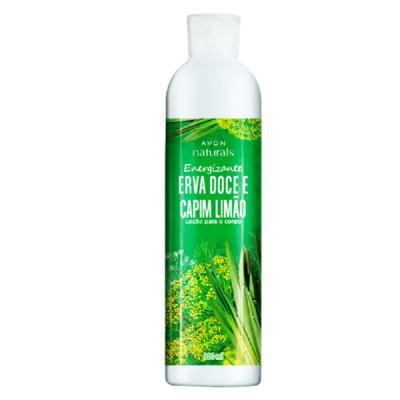 Imagem 1 do produto Loção para o Corpo Naturals Erva Doce e Capim-Limão - 300 ml