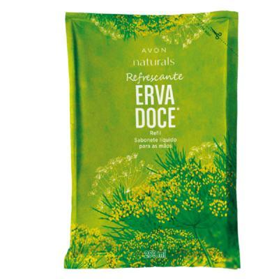 Imagem 1 do produto Sabonete Líquido para as Mãos Refil Naturals Erva Doce - 250 ml