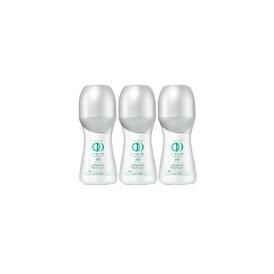 Kit Desodorante Roll-On On Duty Original 48h 50ml - 3 Unidades