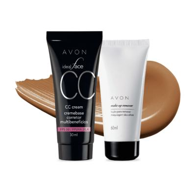 Imagem 5 do produto Kit CC Cream FPS50 e Removedor de maquiagem dos olhos
