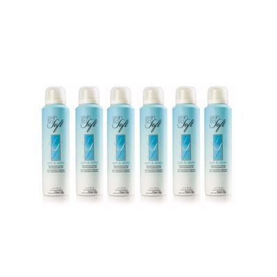 Kit Desodorante Aerosol Clareador Skin So Soft  - 150ml - 6 Unidades