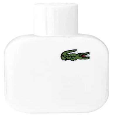 Perfume Eau de Lacoste L 12 12 Blanc Pure Eau de Toilette Masculino