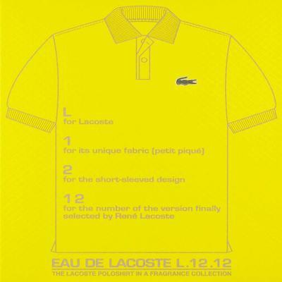 Imagem 3 do produto Perfume Lacoste L 12 12 Jaune Optimist Eau de Toilette Masculino