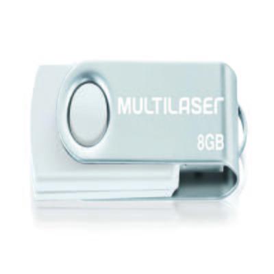 Pendrive Multilaser Twist Branco 8GB - PD887 - PD887