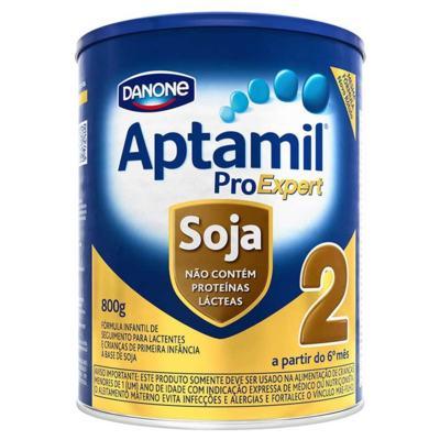 Kit Aptamil 2 Soja 800g 12 unidades