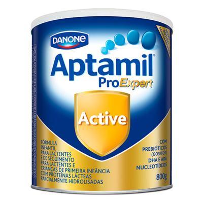 Kit Aptamil Active Fórmula Infantil 800g com 6 unidades