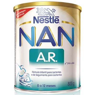 Imagem 8 do produto Nan Ar Anti-Regurgitante Fórmula Infantil 800g -
