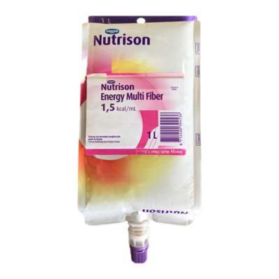 Kit Nutrison Energy Multi Fiber 1.5 1L Sachê com 8 unidades