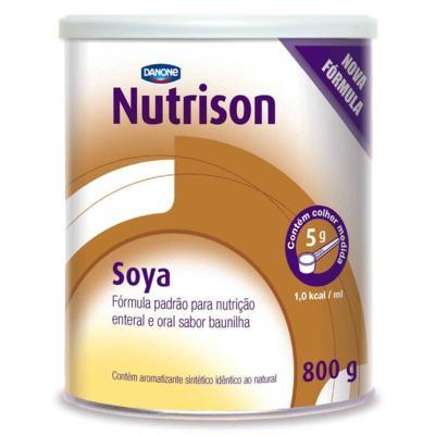 Imagem 1 do produto Kit Nutrison Soya Baunilha 6 unidades de 800g