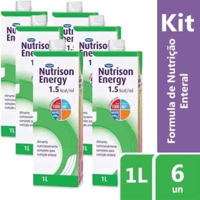 Imagem 2 do produto Kit Nutrison Energy 1.5 1L 6 unidades