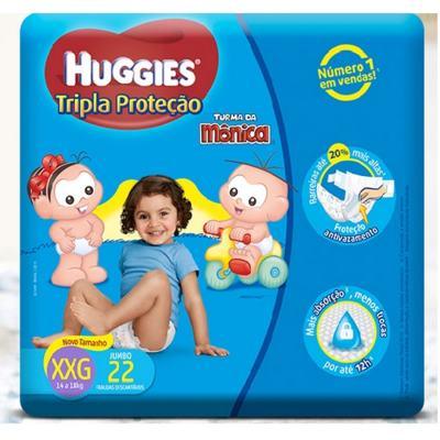 Fralda Turma da Monica Huggies XXG 22 unidades Copy