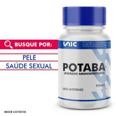 Potaba (potássio Aminobenzoato) 500mg - 90 Cápsulas