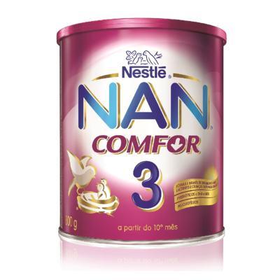 Imagem 2 do produto Fórmula Infantil NAN Comfor 3 - Lata, 800g -