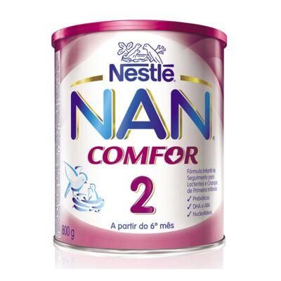 Imagem 1 do produto Kit Nan Comfor 2 800g 6 unidades