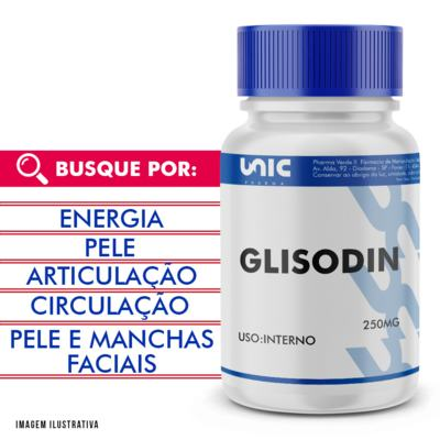 Glisodin 250mg - 120 Cápsulas