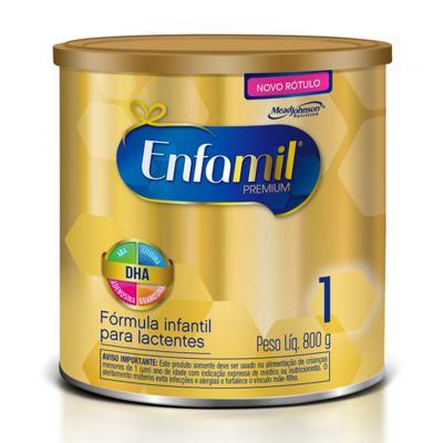 Imagem 1 do produto Kit Enfamil 1 Premium 800g 12 unidades