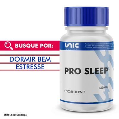 Pro Sleep 130mg com selo de autenticidade - 120 Cápsulas