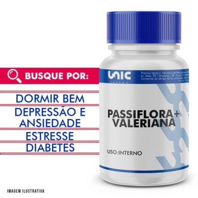 Passiflora + valeriana - 90 Cápsulas