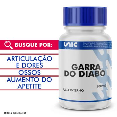 Garra do diabo 300mg - 120 Cápsulas