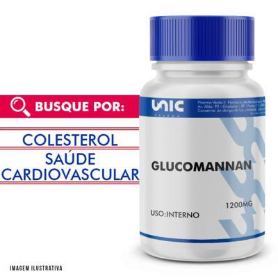 Glucomannan 1200mg - 120 Cápsulas