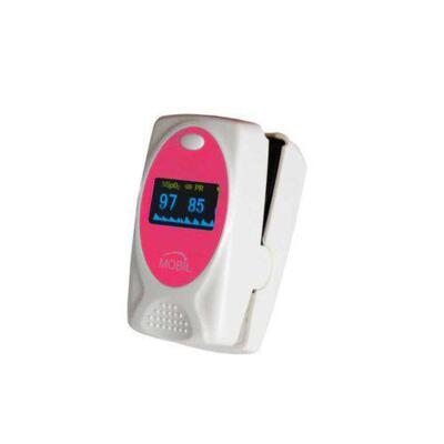 Imagem 1 do produto Oximetro Pediatrico de Dedo Rosa Mobil