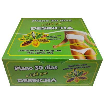 Imagem 2 do produto Chá Plano 30 Dias Desincha 60 Sachês